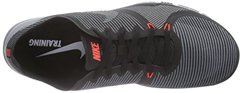 4156a69e10640 pictures of Nike Mens Free Trainer 3.0 V4 Training Shoes Black Cool Grey  749361-