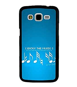 Vizagbeats Enjoy The Music Back Case Cover For Samsung Galaxy J7