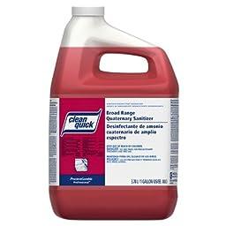 P&G Clean Quick Broad Range Sanitizer - Gal., Closed Loop -(1 CASE)