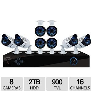 Night Owl Video Surveillance System X9-168-2TB