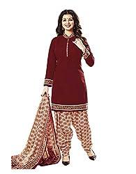 Aarvi Women's Cotton Unstiched Dress Material Multicolor -CV00091