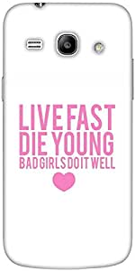 Snoogg Bad Girls Do It Well Designer Protective Back Case Cover For Samsung G...