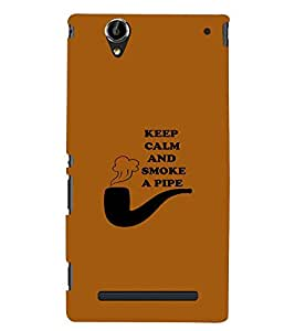 PRINTSWAG QUOTE Designer Back Cover Case for SONY XPERIA T2 ULTRA