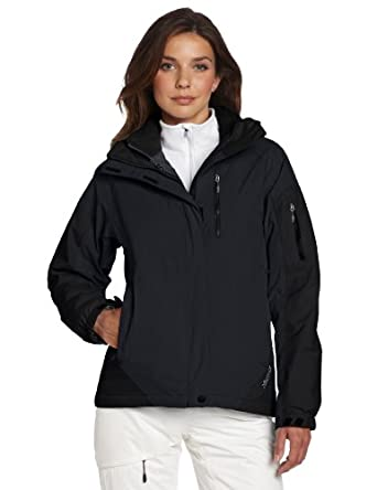 (新品)Marmot土拨鼠 女款经典顶级落叶松3合1防水冲锋衣黑色 Tamarack $210.99