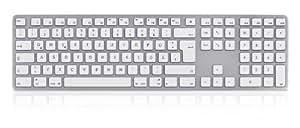 KEYSONIC KSK-8021 MacUH Tastatur (DE) Anzahl Taste