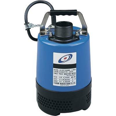Tsurumi Pumps Submersible Water Pump - 3810 GPH, 2/3 HP, 2in., Model# LB4-80