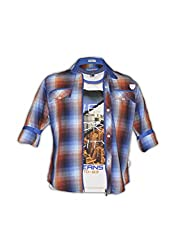 Fingerchips casual 3d greek shirt shirts for boys