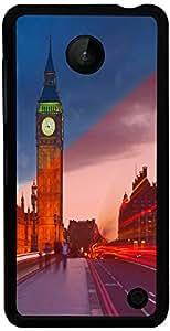 PrintVisa Travel Big Ben Case Cover for Nokia Lumia 630