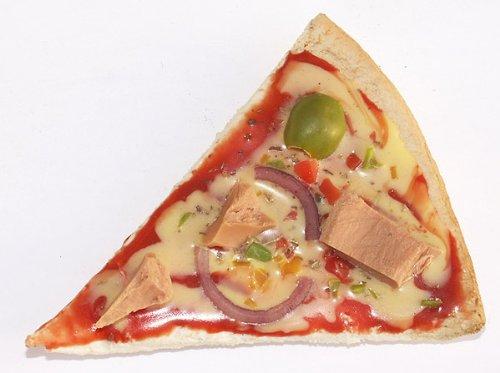 Thon à pizza Food magnétique-Pizza morceaux magnétique, réfrigérateur aimant en tant que Coole Idée Cadeau