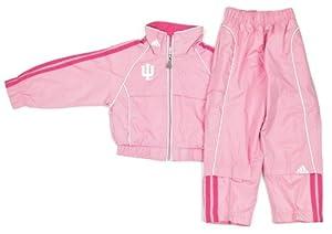 Buy adidas Indiana Hoosiers Girls Pink Windsuit Jacket & Pants Set by adidas