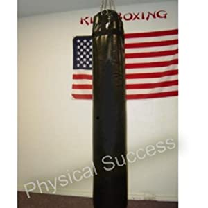 Muay Thai Leather Heavy Punching And Kicking Bag-unfilled (empty)