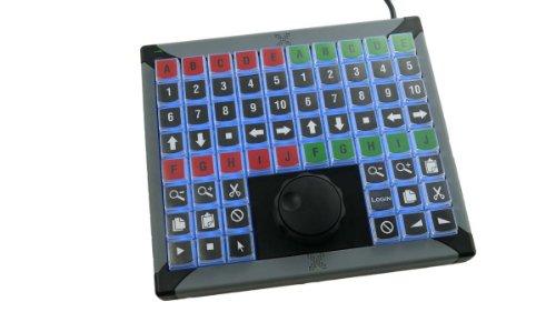 X-Keys Xk-68 Usb Keyboard +Jog And Shuttle