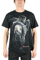 Gears Of War - - Hommes Portrait Dom T-shirt In Black
