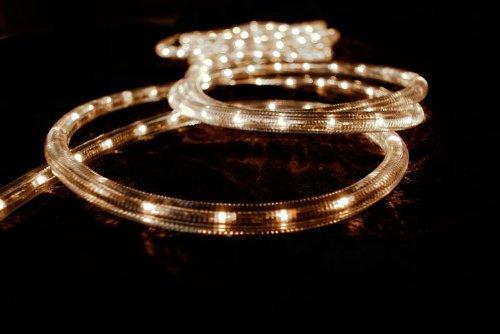 Lichtschlauch 20m transparent / warmweiss, innen + aussen kaufen