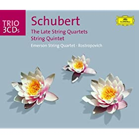 Schubert: The Late Quartets; Quintet (3 CD's)
