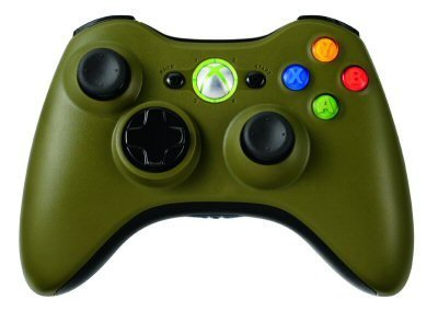 Xbox Green Xbox 360 Halo Full Controller Shell Housing Limited Edition