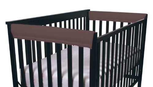 Easy Teether Side Rail Covers - 2 Pack - Brown