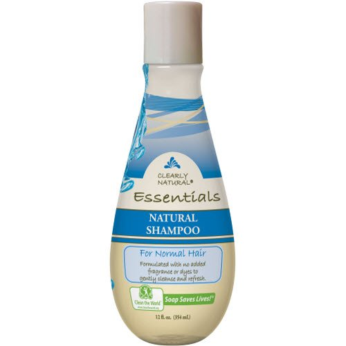 Clearly Natural Essentials Shampoo For Normal Hair, 12 Fluid Ounce