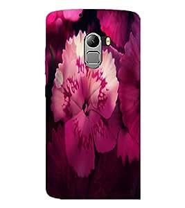 PrintDhaba Flower D-2834 Back Case Cover for LENOVO VIBE X3 c78 (Multi-Coloured)