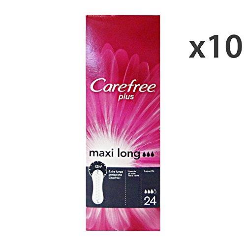 set-10-carefree-24-pz-long-salvaslip-serviettes-et-protege-slips