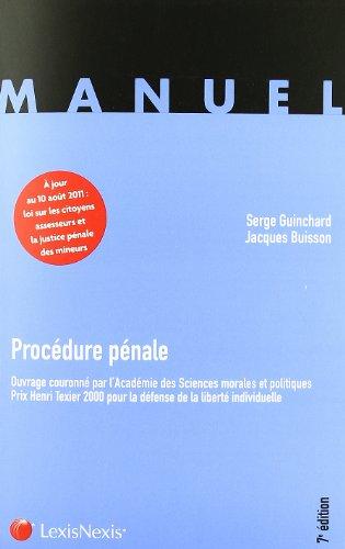 Procédure pénale (French Edition)