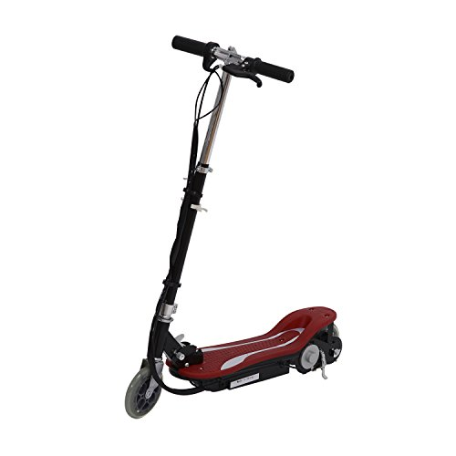 Electric 120W Kids Motorized Riding E Scooter - Red