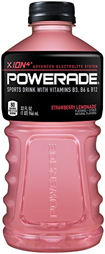 POWERADE, Strawberry Lemonade, 32 Fl oz Bottle