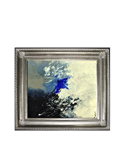Pol Ledent Abstract 8811301 Framed Reproduction Print on Canvas