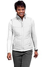 Port Authority Women\'s Puffy Vest M White/Dark Slate