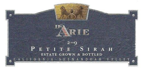 2009 C.G. Di Arie Flagship Wines Petite Sirah, Estate Grown 750Ml