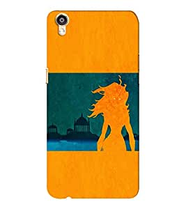 EPICCASE the fiery beauty Mobile Back Case Cover For Oppo F1 Plus (Designer Case)