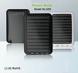 2500mah Portable Solar Emergency Charger for Digital Devices