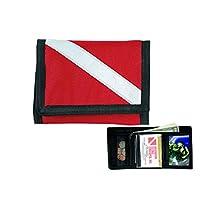 Dive Flag Wallet - Diver Down Flag Cordura Velcro Wallet