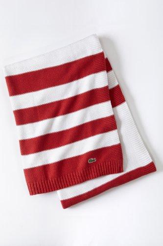 Striped Knit Throw