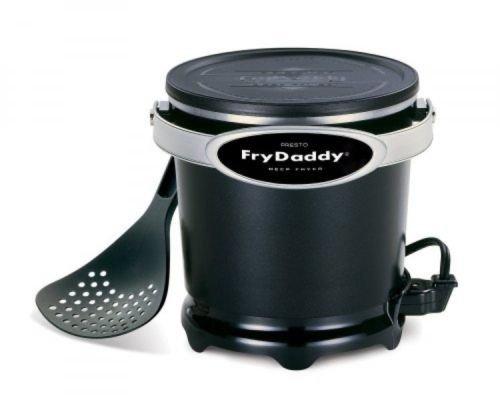 Presto Frydaddy Electric Deep Fryer, 05420, New