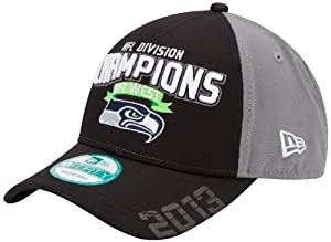 NFL Seattle Seahawks 2013 Division Champs 9Forty Adjustable Cap