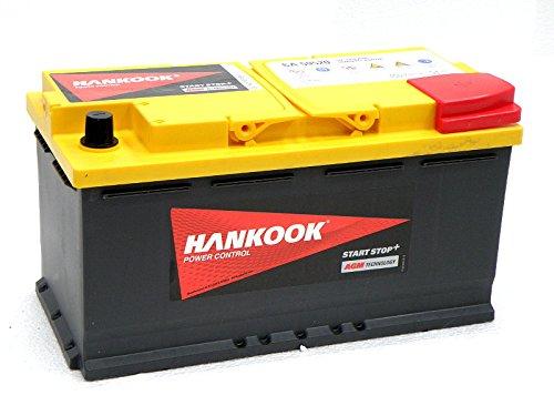 batterie-hankook-95ah-agm-voiture-12v-850cca-garantie-de-5-ans-start-stop