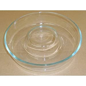 how to clean burnt glass baking dish