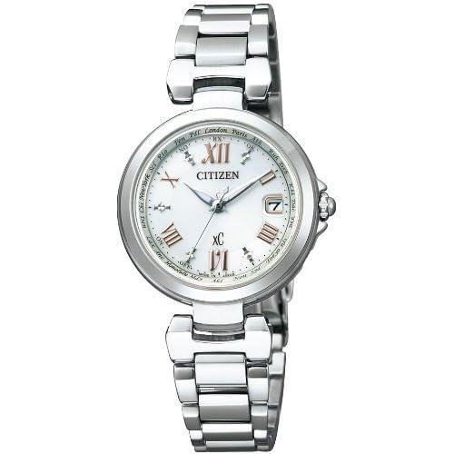 [シチズン]CITIZEN 腕時計 xC クロスシー HAPPY FLIGHT Eco-Drive エコ・ドライブ 電波時計 多局受信型 針表示式 EC1030-50A レディース
