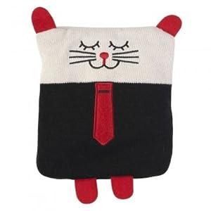 La chaise longue 32-S2-001B - Bolsa de agua caliente para niños, diseño de gato marca La Chaise Longue