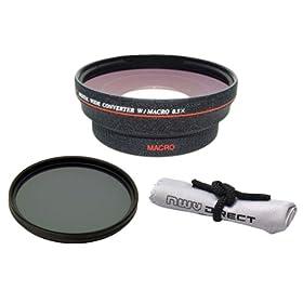 4 Elements Canon Zoom Super Wide Angle EF 17-40mm f//4L USM 2x Teleconverter Nwv Direct Microfiber Cleaning Cloth.