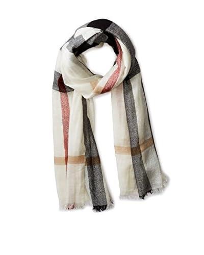 Burberry Women's Cashmere Scarf 3902672, Light Ivory Check