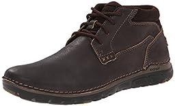 Rockport Men\'s Zonecush Rocsports Lite Plain Toe Boot Bitter Chocolate Tumbled 9.5 M (D)