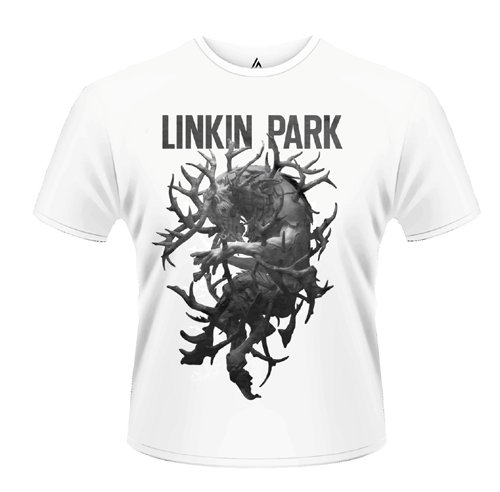 Playlogic International(World) - Linkin Park Antlers, T-shirt da uomo, bianco (white), L