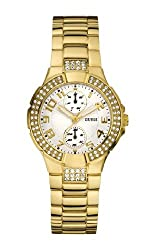 GUESS Analog White Dial Womens Watch - W15072L1