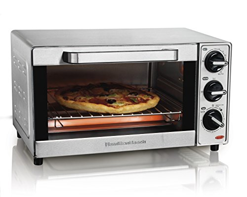 Hamilton Beach 31401 Hamilton Beach Toaster Oven, Stainless Steel (Toaster Ovens Best Rated Compact compare prices)