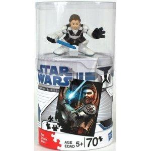 Star Wars 70 Piece Clone Wars Galactic Heroes Puzzle - Obi Wan Kenobi - 1