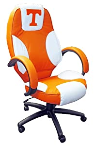 NCAA Tennessee Volunteers Leather Office Chair by Wild Sales