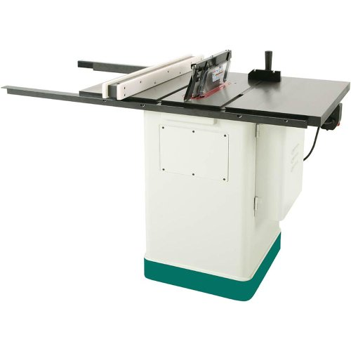 Grizzly G0715p Polar Bear Series Hybrid Table Saw With Riving Knife 10 Inch Hardware Tools Saws