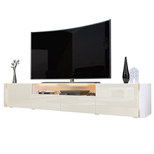 TV-Board-Lowboard-Marino-V2-in-Wei-Creme-Hochglanz